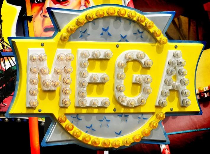 Mega sign