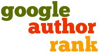 Google Author Rank wordle