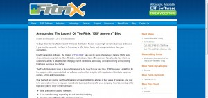 Fitrix ERP Software Blog